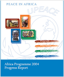 Africa Programme 2004 Progress Report