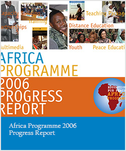 Africa Programme 2006 Progress Report