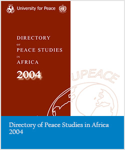 Directory of Peace Studies in Africa 2004