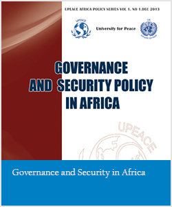 Governance and Security in Africa