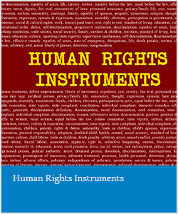 Human Rights Instruments